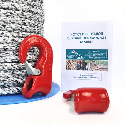 Fiche produit kit crochet Skadee - Débardage forestier