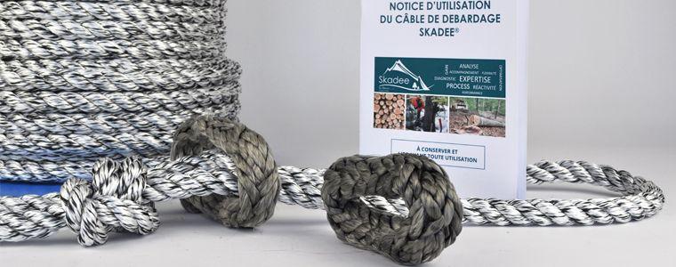 Skadee : un kit complet de câble tout textile pour le débardage forestier